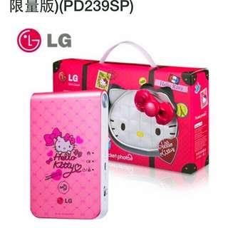 LG PD239SP Pocket Photo 口袋相印機 Hello Kitty限定版