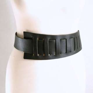 50%off Leather Belt With Unusual Closure