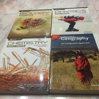 Old Secondary Textbooks And Ten Year Series