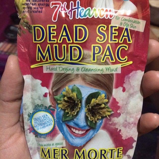 7th Heaven Dead Sea Mud pack