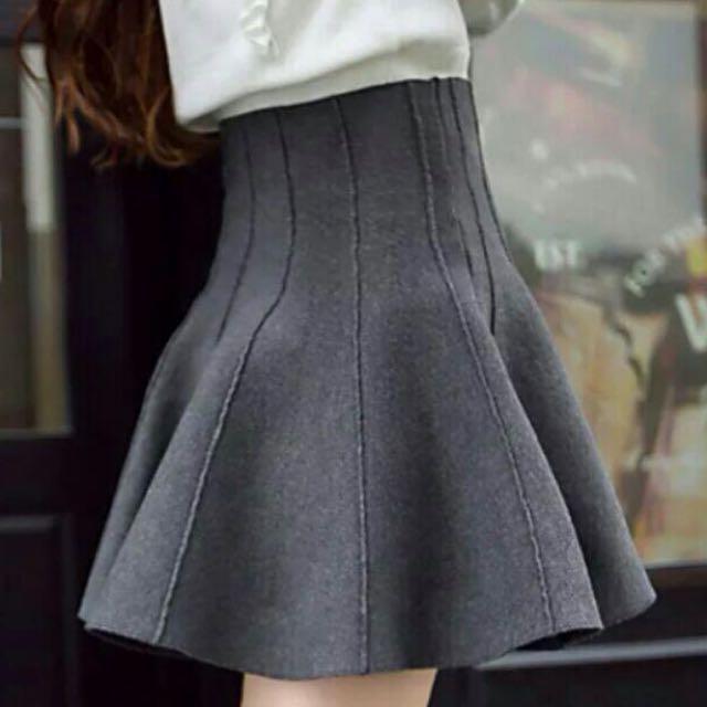 [全新免運]針織短裙