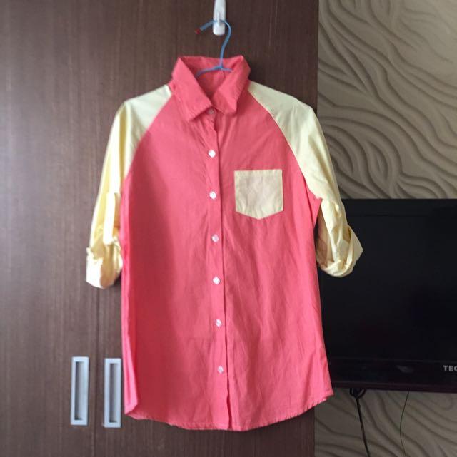 馬卡龍襯衫