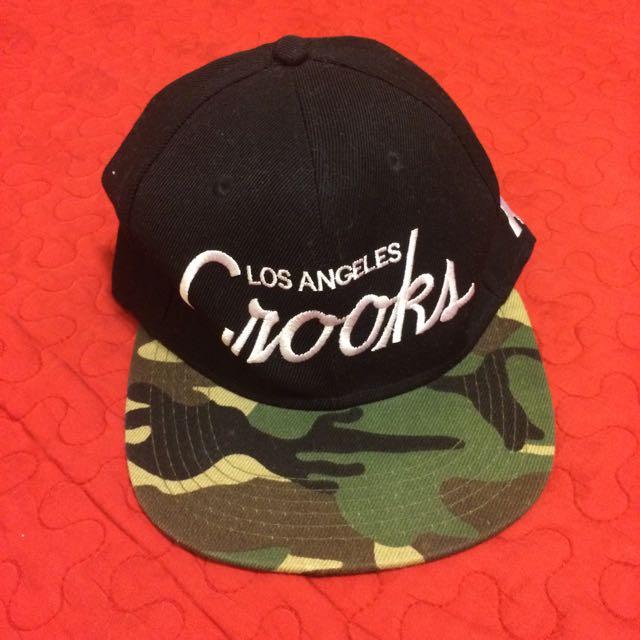 全新_迷彩英文字樣黑綠撞色調節扣棒球帽