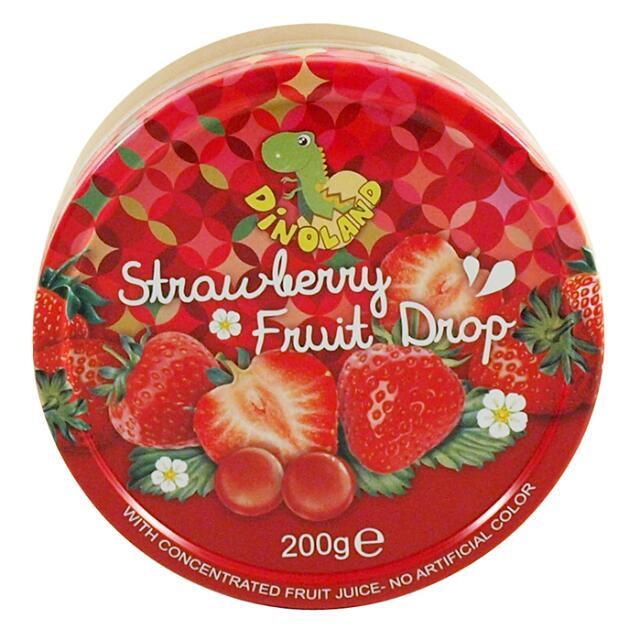 迪諾恐龍家族 - 草莓味糖果粒