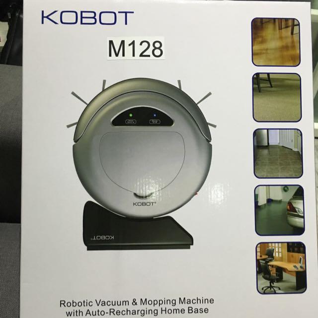 ‼️大減價【美國 KOBOT】聰明管家 智慧型回充吸塵器機器人