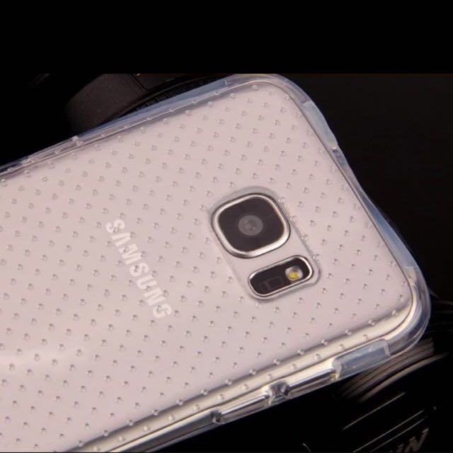 A) Samsung Galaxy S7 Edge Ultra Thin TPU Casing - Free Postage