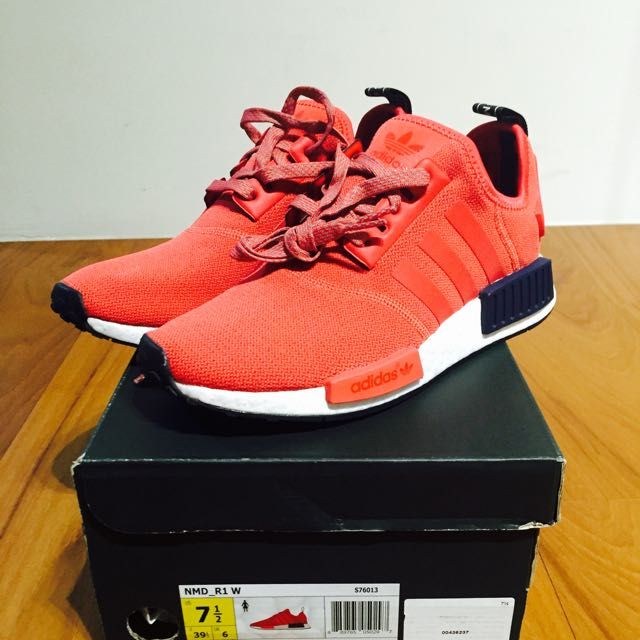 Adidas Originals Nmd R1 紅色配色 24.5