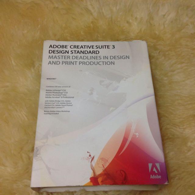 Adobe Creative Suite 3 Design Standard Master Deadlines In Design And Print Production