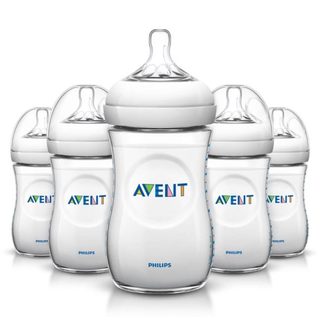 Avent Natural 9oz Bottles