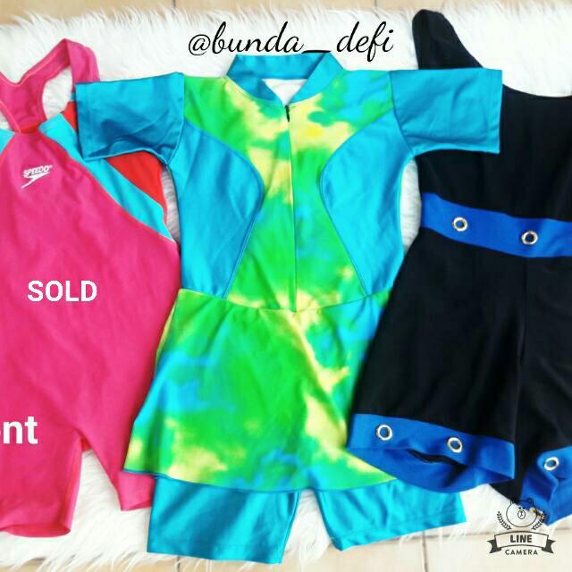 Baju Renang Pendek / Swim Suit