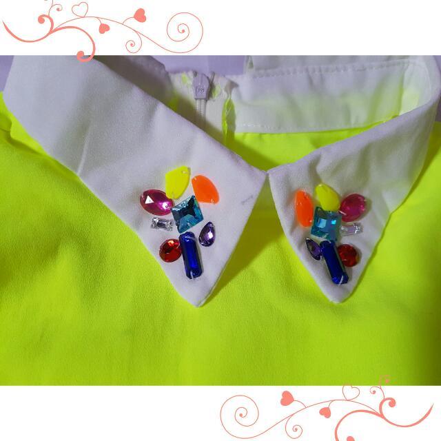 Beads Neon Top