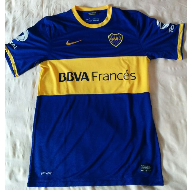 low priced ea253 c1707 Boca Juniors Original Home Jersey 2013/2014 Men's Size Small