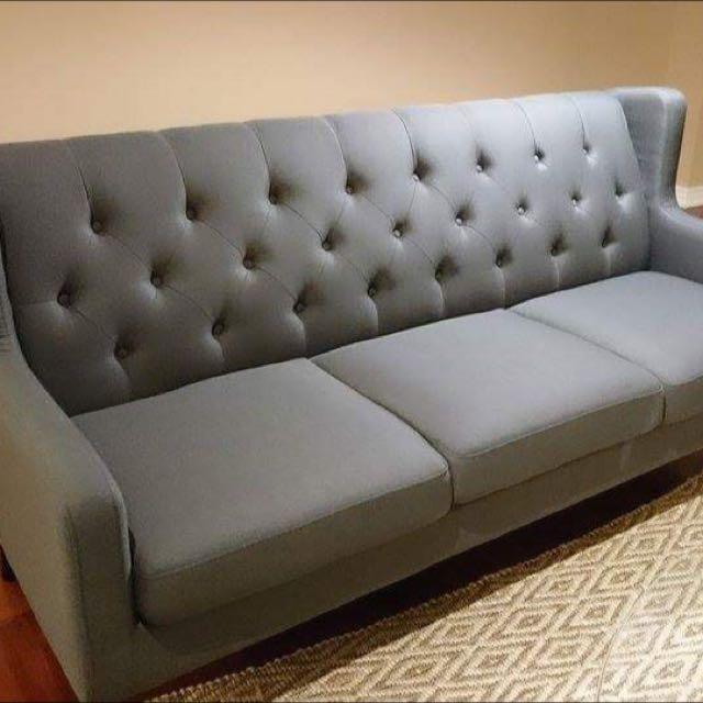 Brand new mid-century sofa