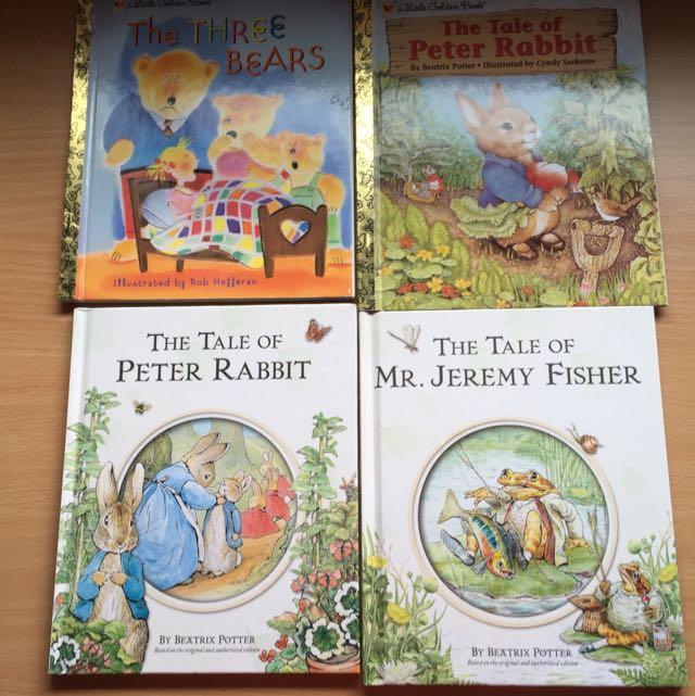 Brand New Peter Rabbit Story Books