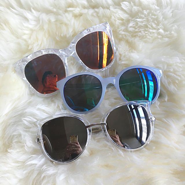 BUNDLE 3x Mirror Sunglasses
