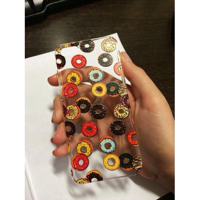 Case iPhone 5/s/SE Donut