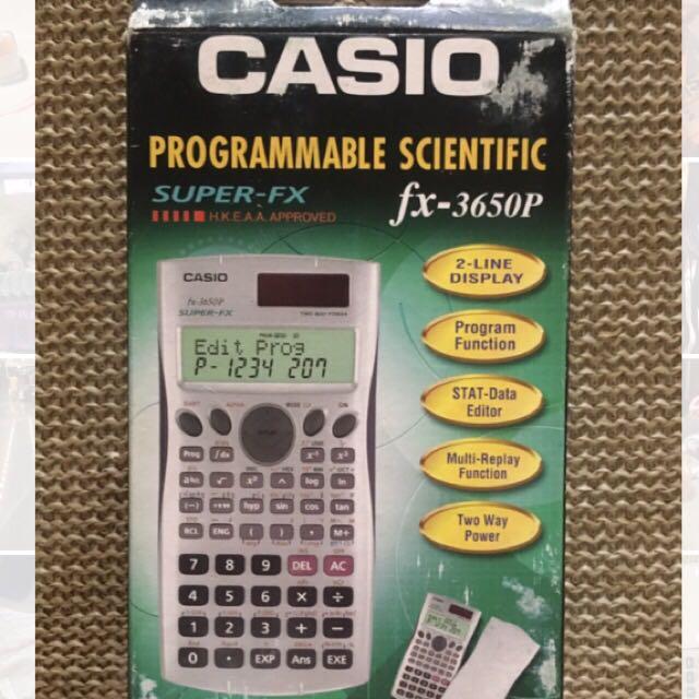 Casio工程計算機