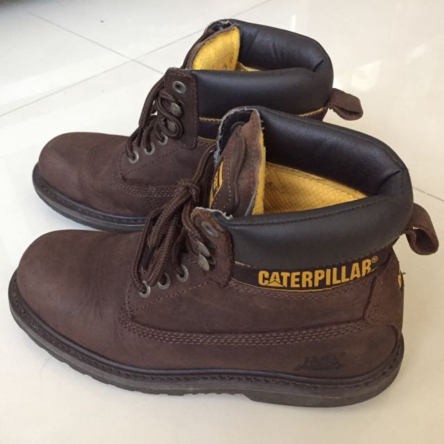美國Cat 深咖啡色靴子,高筒,長靴,短靴,boots(非Timberland)