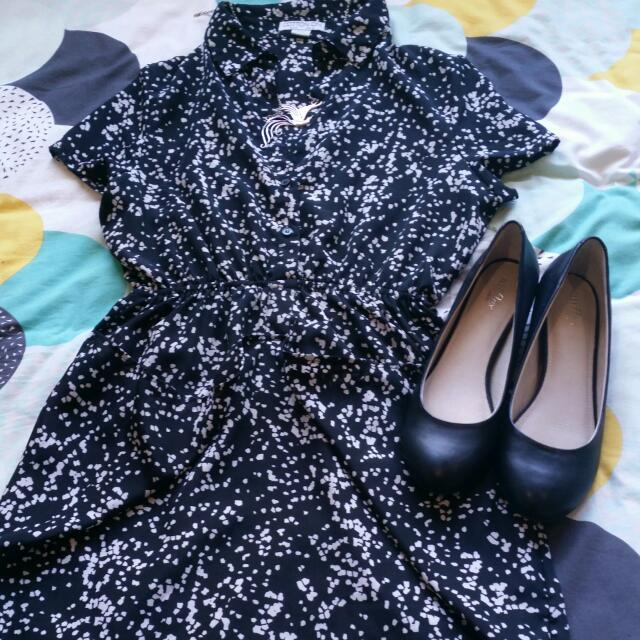 Collared Dress Size S
