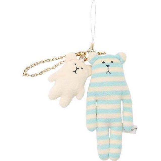 限時優惠✨ CRAFTHOLIC 全家 宇宙人 條紋 熊熊 子母 耳機塞 耳機孔 娃娃 吊飾