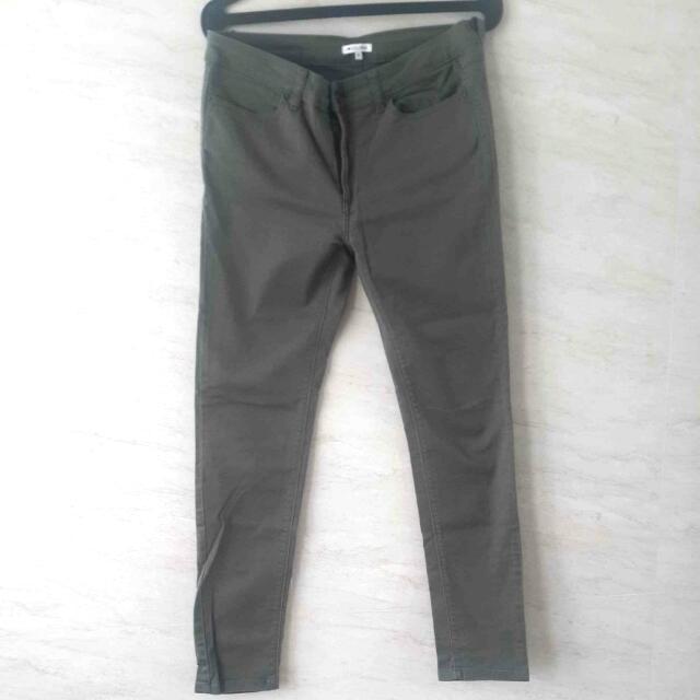 Colorbox - Dark Green Pants