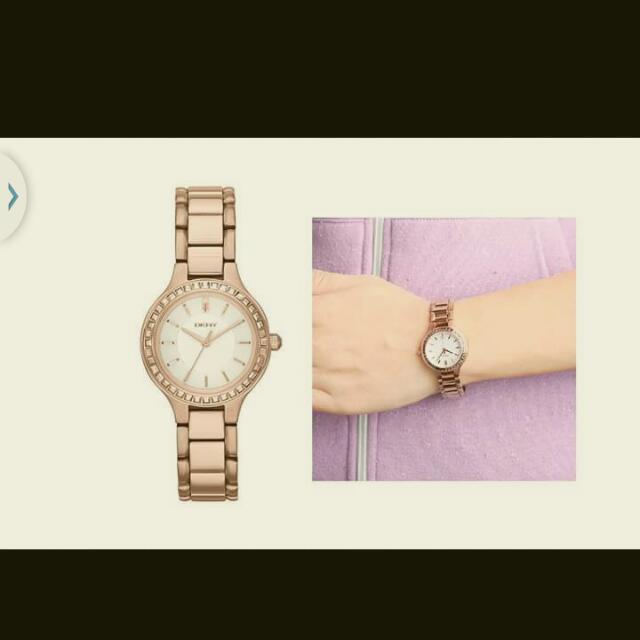 DKNY石英錶