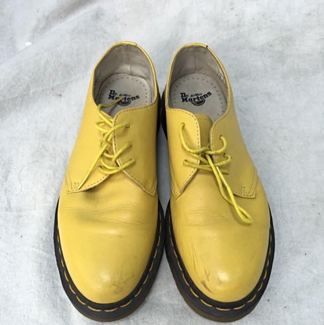 Dr Martens Sun Yellow Cartegena (Doc Marten's)