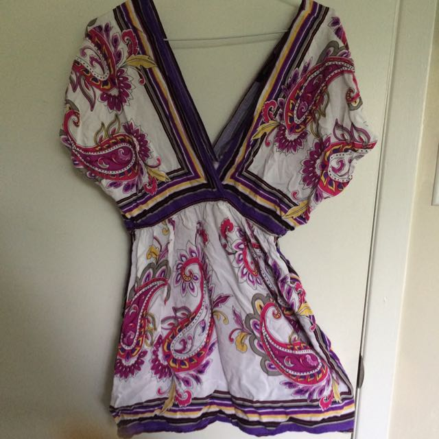 Majora Floral V-neck Shirt
