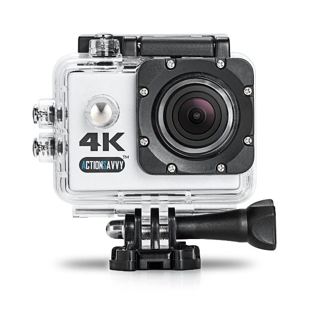 gopro alternative actionsavvy inspire 4k action camera. Black Bedroom Furniture Sets. Home Design Ideas