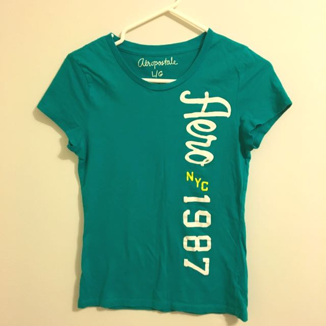 Green Aeropostale T-shirt *30% OFF, WAS $10*