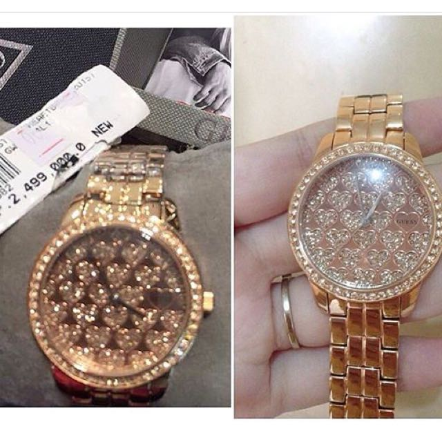 Guess Rose Gold