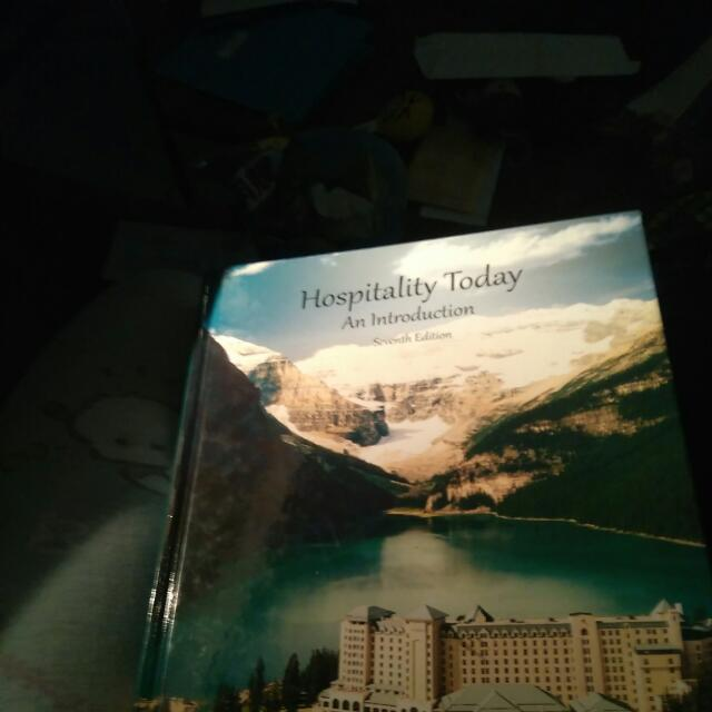 Hospitality Today An Introduction Seventh Edition