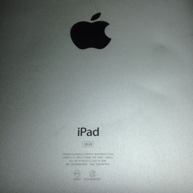 iPad1.  32G