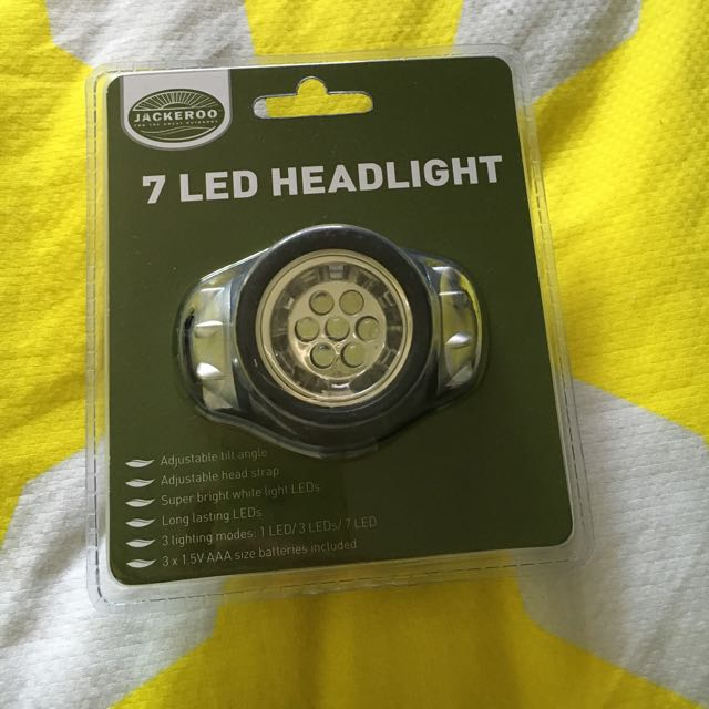 Jackaroo 7 Led Light