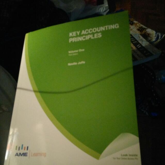 Key Accounting Principles