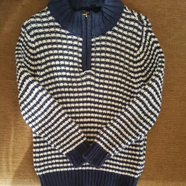 (FOR 12-24 MONTHS) Knitted Sweatshirt from Abu Dhabi