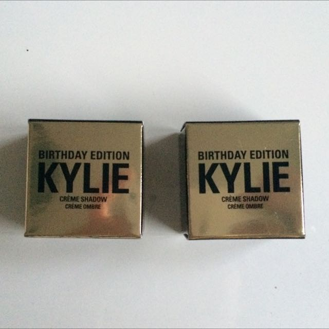 Kylie Cream shadows