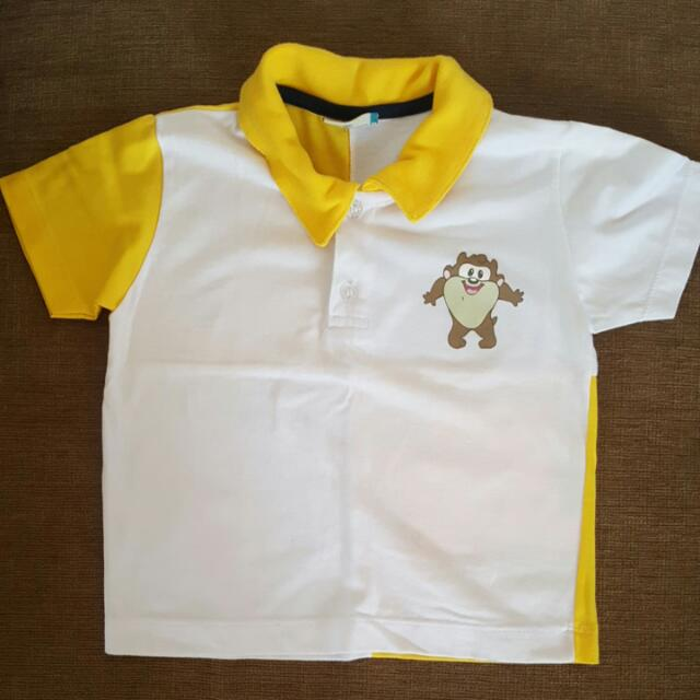 Looney Tunes Poloshirt - Tazmania (FOR 12-18 MONTHS)
