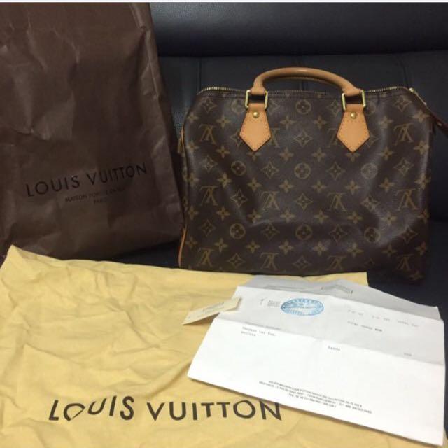 LOUIS VUITTON SPEEDY 30手提包