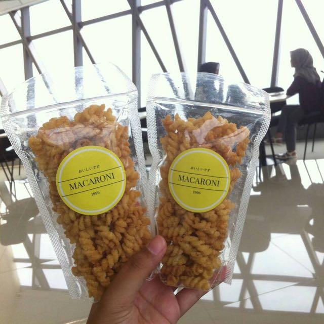 Macaroni Renyah Pedas Dan Asin