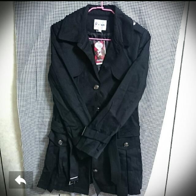 降價🔥🔥🔥MA.TSU.Mi瑪之蜜長版風衣外套洋裝✨
