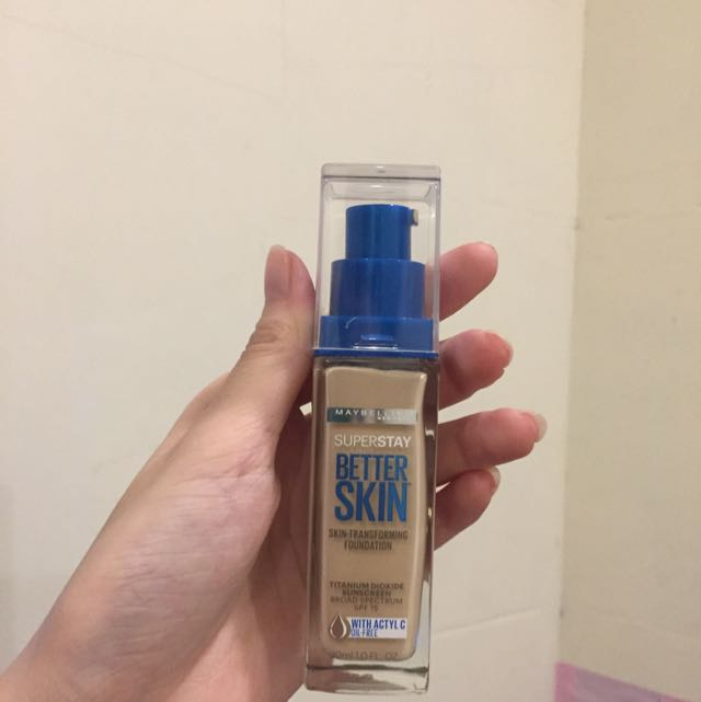 Maybelline Better Skin Foundation粉底液