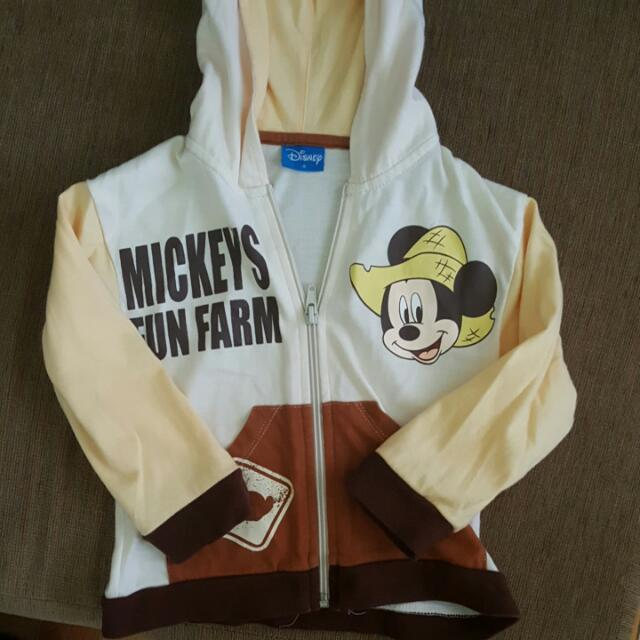 Mickey Mouse Sweater - Size Small - For 12-24 Months