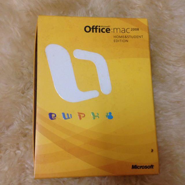 Microsoft Office Mac 2008 Home & Student Edition