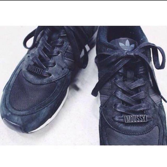 Moussy X adidas  ZX850 聯名異素材拼接休閒鞋 球鞋