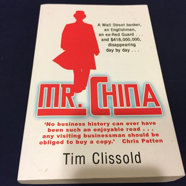 Mr China, Tim Clissold (原文)NT100