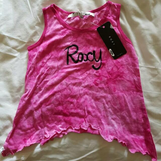 New Girls ROXY singlet In Size 4
