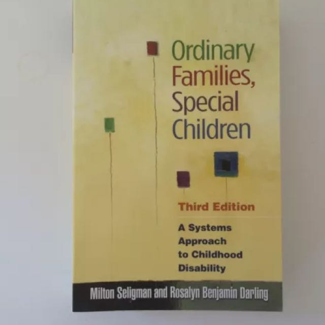 Ordinary Families, Special Children