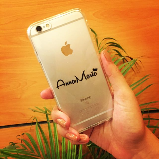 Phone Case With Sticker