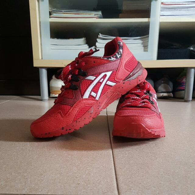 sneakers for cheap 36849 38cee (Replica) Asics Gel Lyte III Red Camouflage